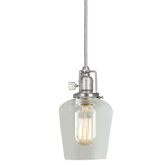 JVI Designs 1 Light Union Square Pendant, 15' cord 1201 S9 - Farmhouse Kitchen and Bath