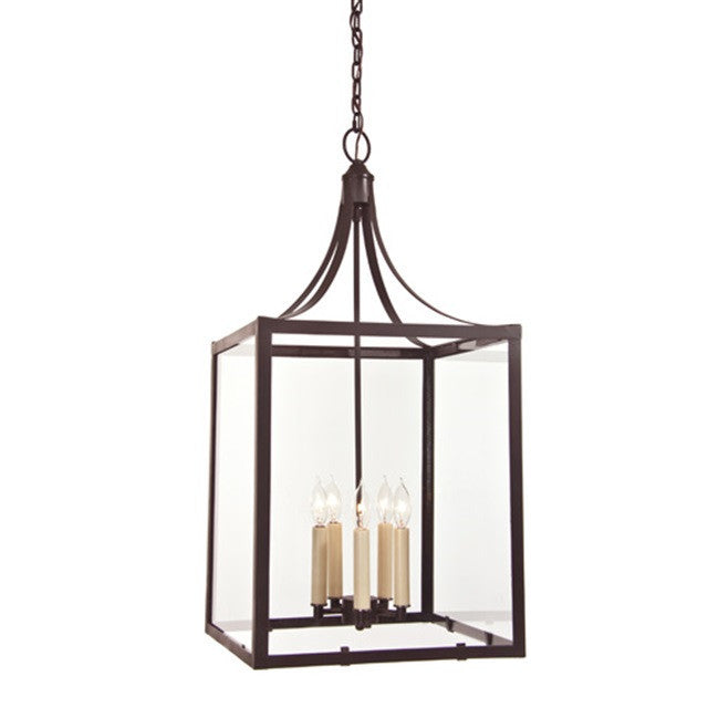 JVI Designs 5 Light Columbia Arc Lantern Large, 3025-08 - Farmhouse Kitchen and Bath