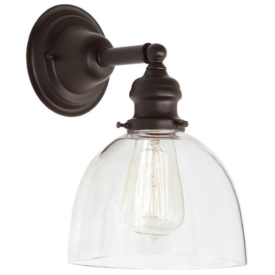 "JVI Designs 1 Light Union Square 7"" Sconces, 1210 S5 - Farmhouse Kitchen and Bath"