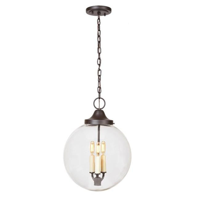 JVI Designs 3 Light Hanging Boston Pendant, 1186 - Farmhouse Kitchen and Bath