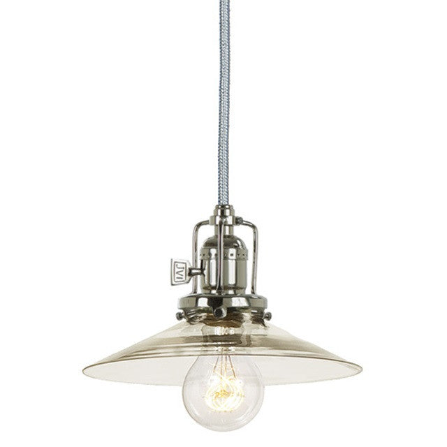 JVI Designs 1 Light Union Square Pendant, 15' cord, 1201 S1 - Farmhouse Kitchen and Bath