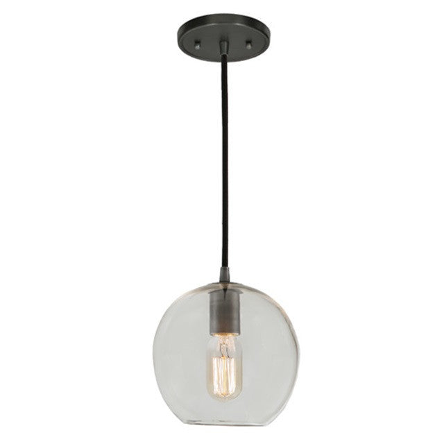 "JVI Designs 1 Light Grand Central Pendant 7""Clear, 1300 G6 - Farmhouse Kitchen and Bath"