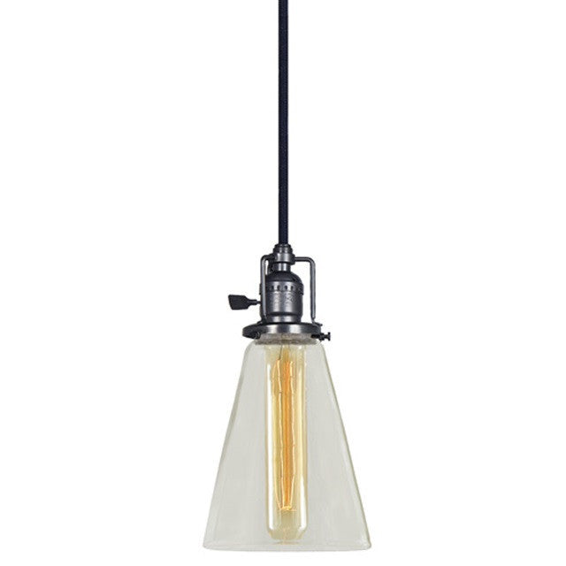 JVI Designs 1 Light Union Square Pendant, 1200 S10 - Farmhouse Kitchen and Bath