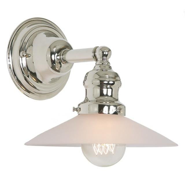JVI Designs 1 Light Union Square Sconces, 1210 S1 F - Farmhouse Kitchen and Bath