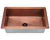 Polaris Single Bowl Cooper Sink P309 - Farmhouse Kitchen and Bath