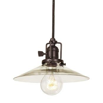 JVI Designs 1 Light Union Square Pendant, 1200 S1 - Farmhouse Kitchen and Bath