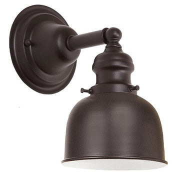 "JVI Designs 1 Light Union Square 7"" Sconces, 1210 M4 - Farmhouse Kitchen and Bath"