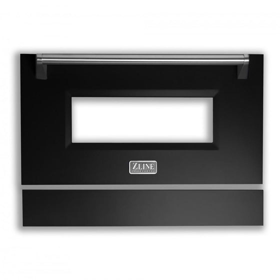 "36"" Range Door in Black Matte, RA-DR-BLM-36 - Farmhouse Kitchen and Bath"