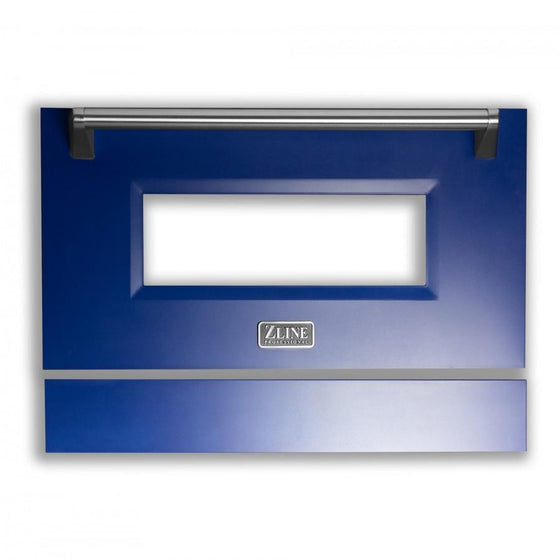 "36"" Range Door in Blue Matte, RA-DR-BM-36 - Farmhouse Kitchen and Bath"