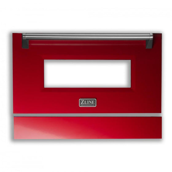 "36"" Range Door in Red Gloss, RA-DR-RG-36 - Farmhouse Kitchen and Bath"