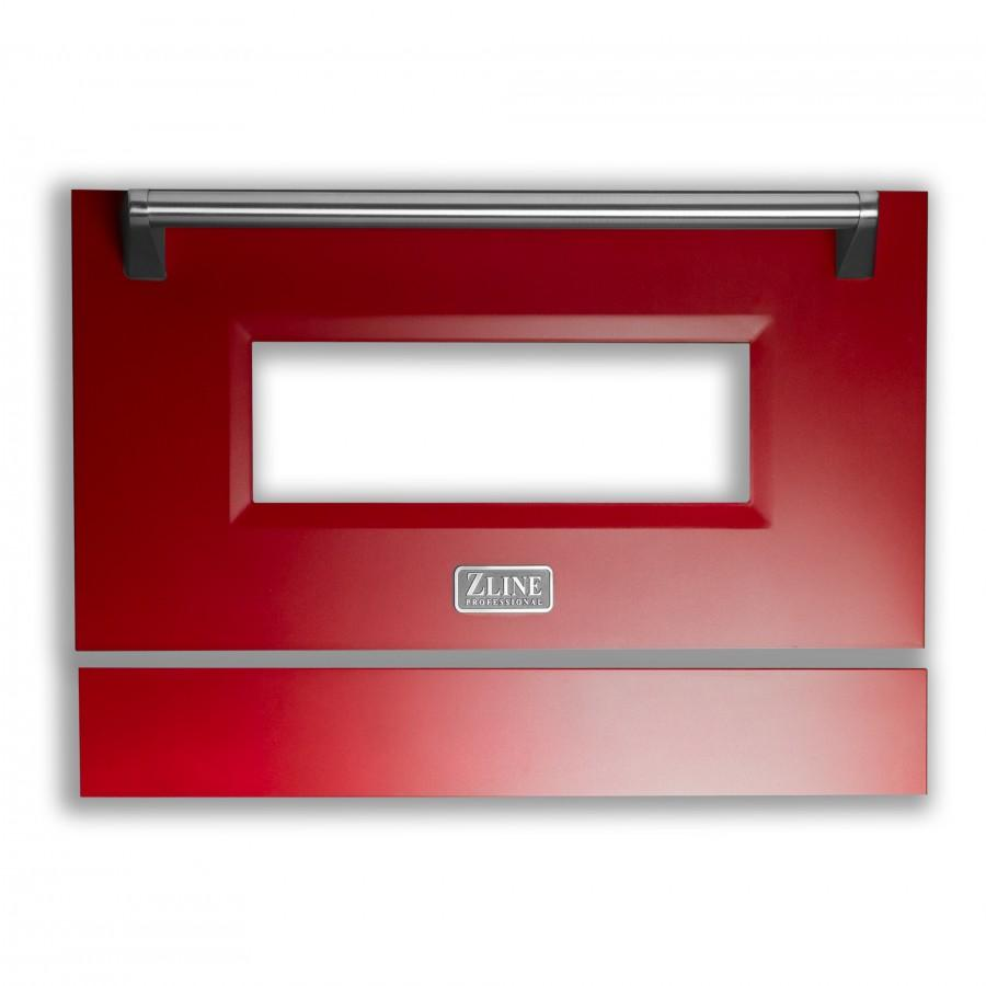 "30"" Range Door in Red Matte, RA-DR-RM-30 - Farmhouse Kitchen and Bath"