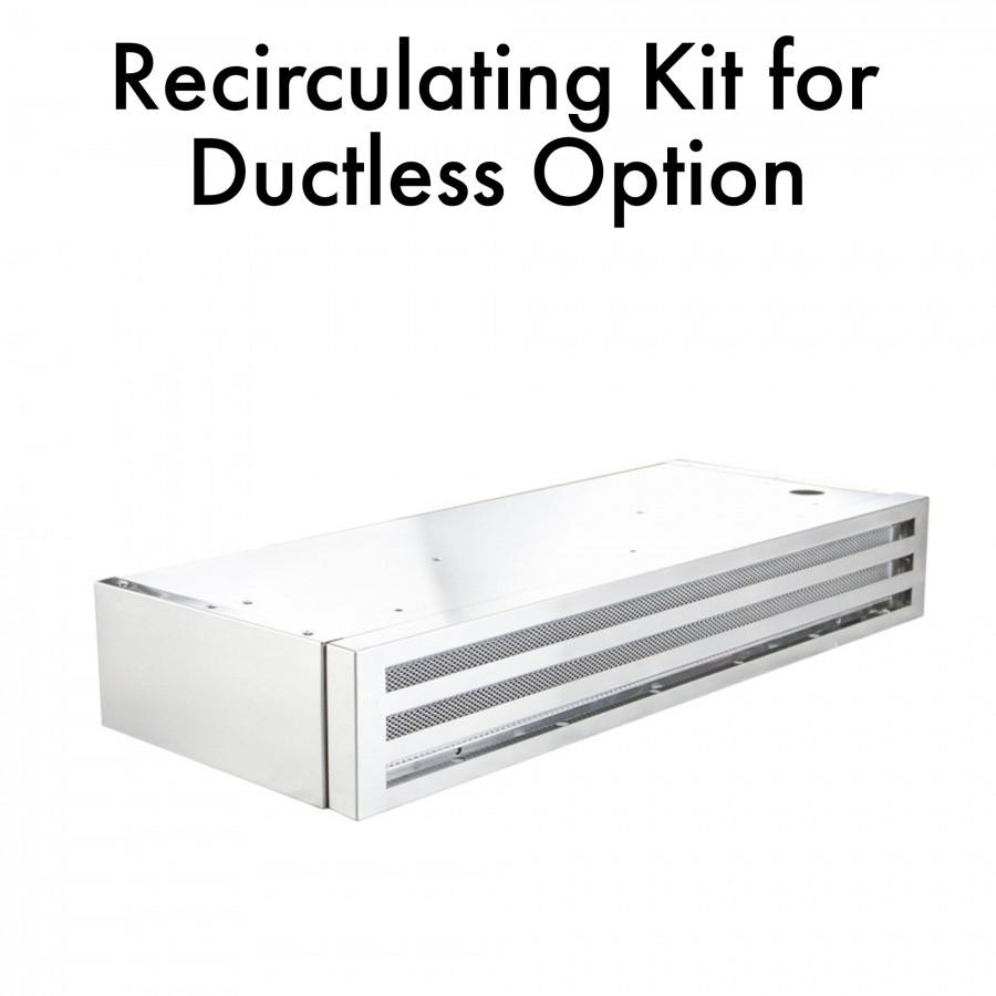 "ZLINE Recirculating Kit for 30"" Under Cabinet Range Hood, RK-30 - Farmhouse Kitchen and Bath"