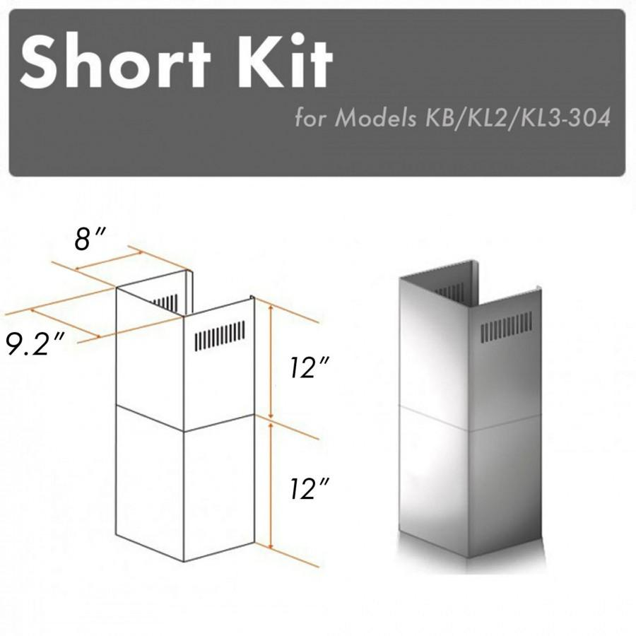 ZLINE Short Kit for 8' Ceilings, SK-KB/KL2/KL3-304 - Farmhouse Kitchen and Bath