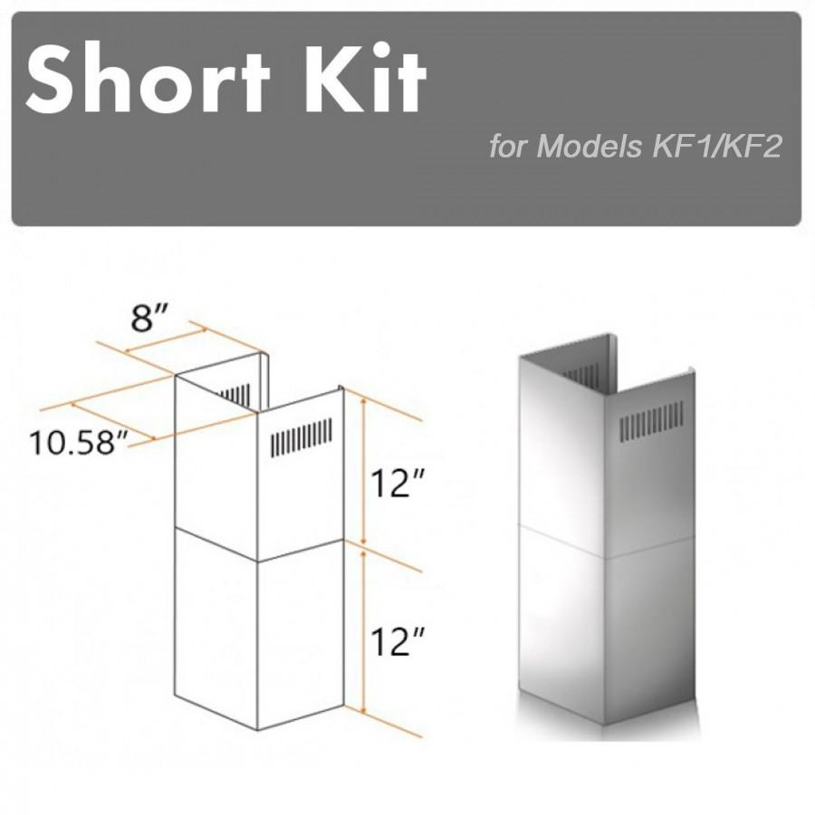 ZLINE Short Kit for 8' Ceilings, SK-KF1 - Farmhouse Kitchen and Bath