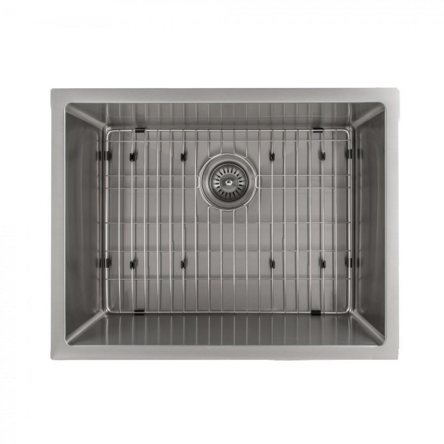 "ZLINE 23"" Undermount Single Bowl Sink in Stainless Steel, SRS-23 - Farmhouse Kitchen and Bath"