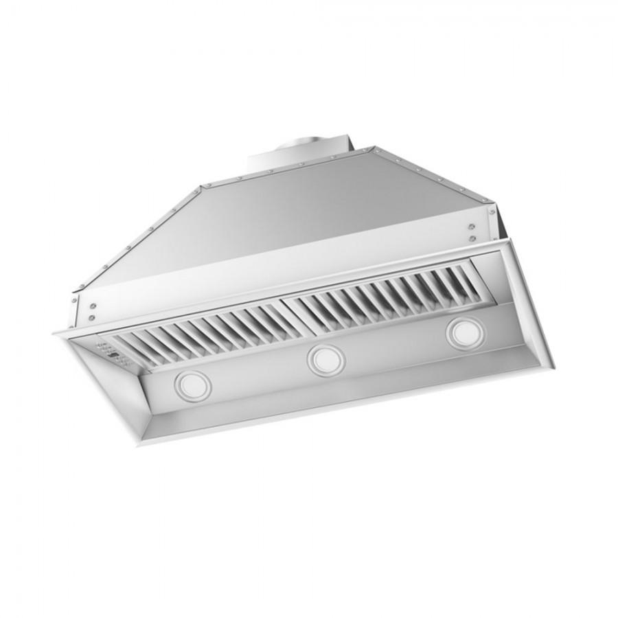 "ZLINE 34"" Remote Dual Blower Stainless Range Hood Insert, 695-RD-34 - Farmhouse Kitchen and Bath"
