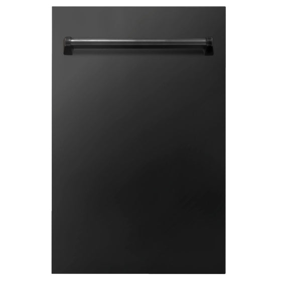 "18"" ZLINE Dishwasher In Black Stainless, With Stainless Tub, DW-BS-18"