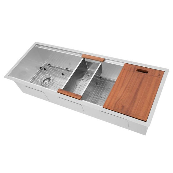 "ZLINE 45"" Undermount Single Bowl, Sink Stainless Steel, SLS-45"