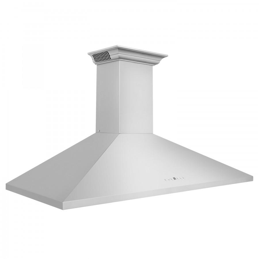 "ZLINE 42"" Wall Range Hood, Built-in CrownSound® Bluetooth Speakers, KL2CRN-BT-42 - Farmhouse Kitchen and Bath"