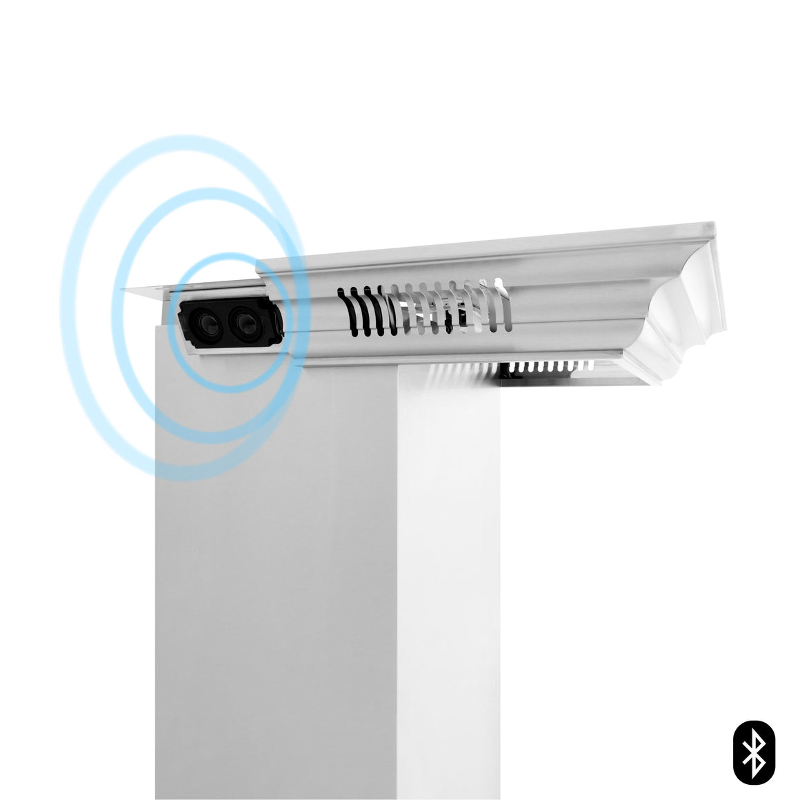 ZLINE Crown Molding With Built-In CrownSound® Bluetooth Speakers (CM6-BT-697)