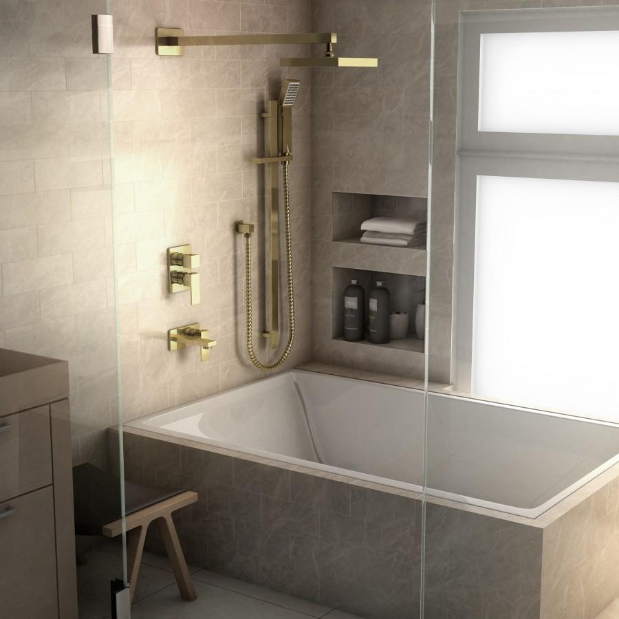 ZLINE Bliss Shower System in Polished Gold, 51-0069-PVDG - Farmhouse Kitchen and Bath
