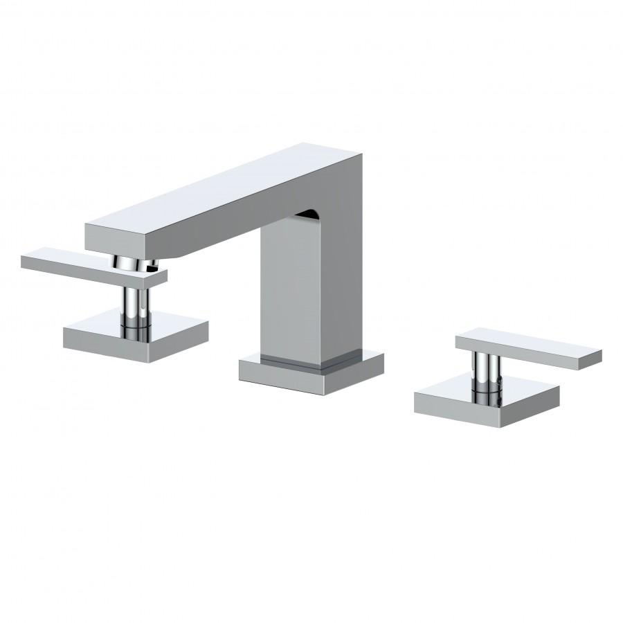 ZLINE Crystal Bay Bath Faucet in Chrome, 26-0072-CH - Farmhouse Kitchen and Bath