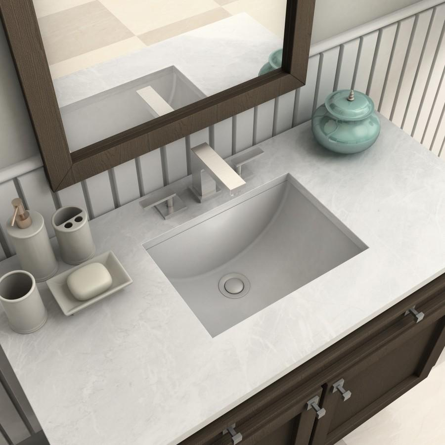 ZLINE Crystal Bay Bath Faucet in Brushed Nickel, 26-0072-PVDN - Farmhouse Kitchen and Bath