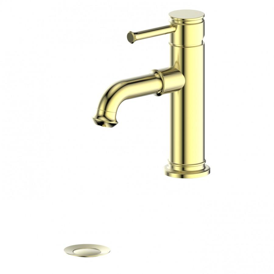 ZLINE Carnelian Bath Faucet in Polished Gold, 31-0296-PVDG - Farmhouse Kitchen and Bath