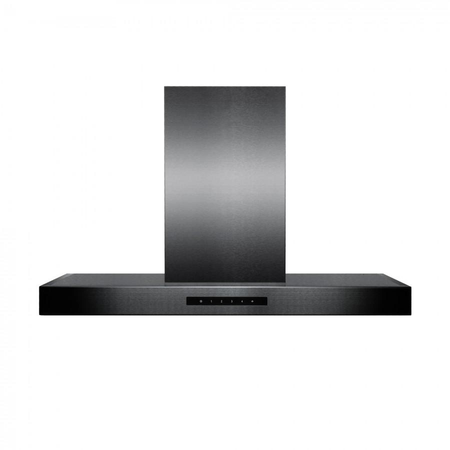 "ZLINE 30"" Wall Mount Range Hood in Black Stainless Steel, BSKEN-30 - Farmhouse Kitchen and Bath"