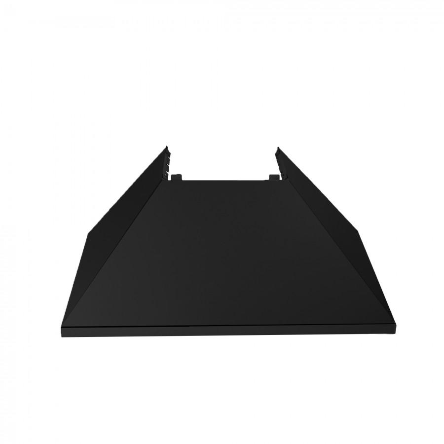 "36"" Colored Range Hood Shell in Black Matte, Shell Only, 8654-SH-BLM-36 - Farmhouse Kitchen and Bath"