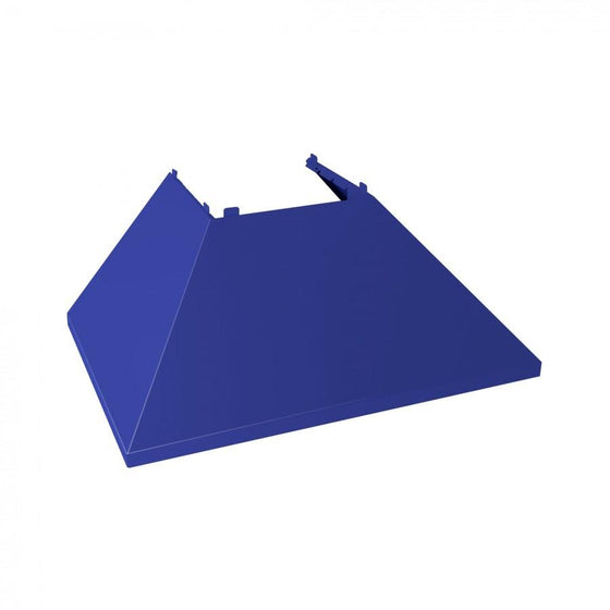 "30"" Coloured Range Hood Shell, Blue Matte, Shell Only, 8654-SH-BM-30 - Farmhouse Kitchen and Bath"