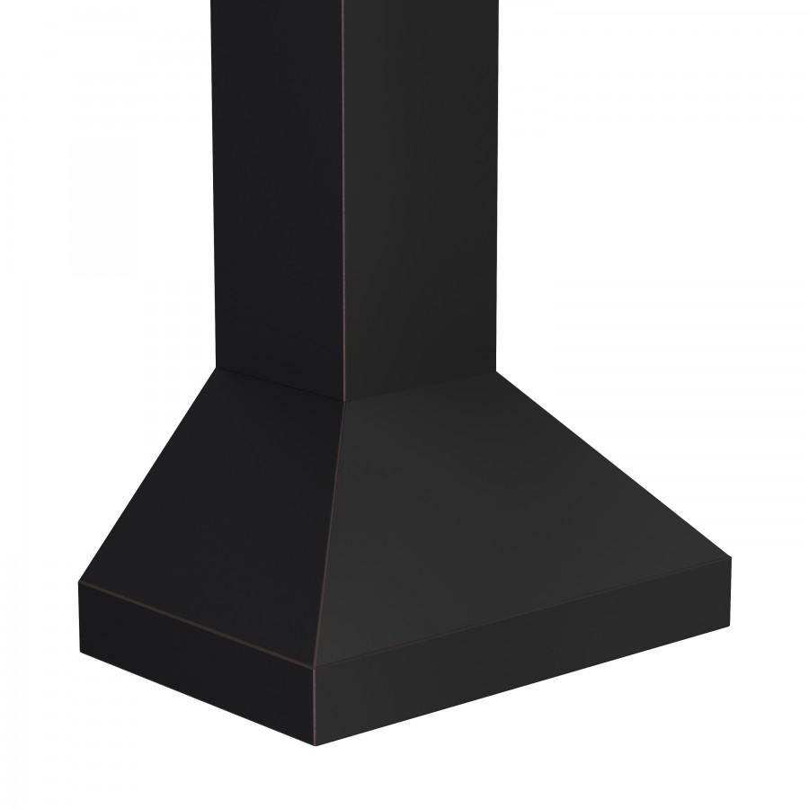 "ZLINE 30"" Oil-Rubbed Bronze Wall Range Hood, 8667B-30 - Farmhouse Kitchen and Bath"
