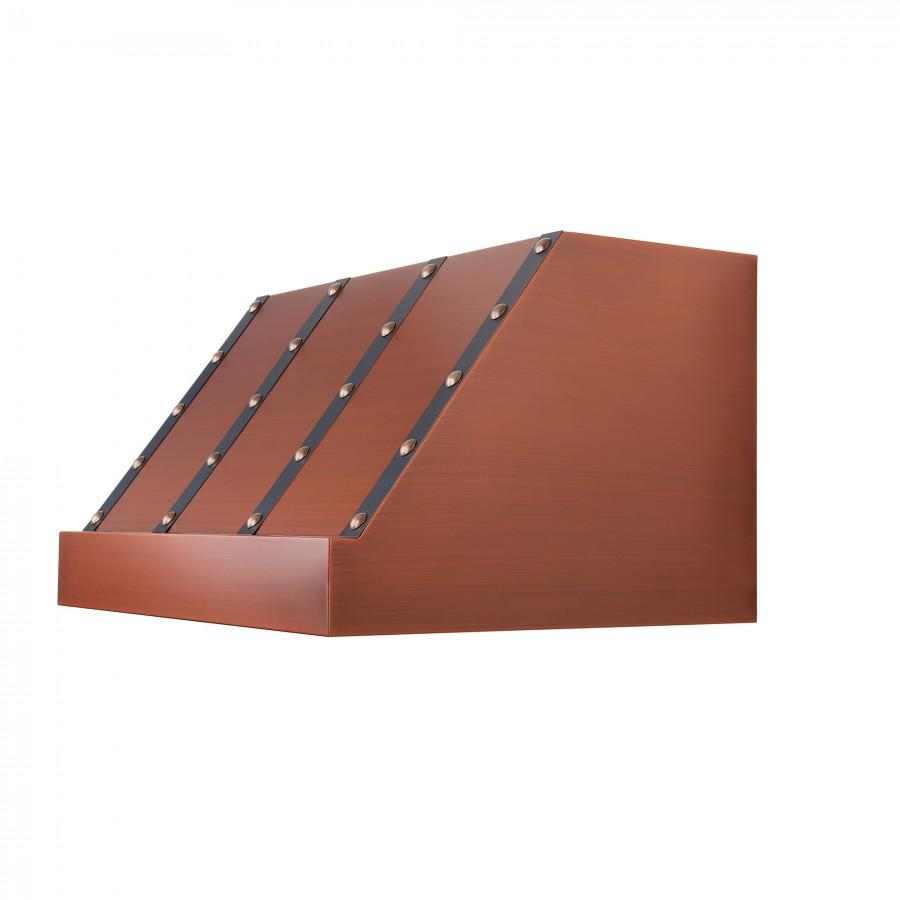 "ZLINE 30"" Under Cabinet Copper Vent Range Hood, 435-CXBBB-30 - Farmhouse Kitchen and Bath"