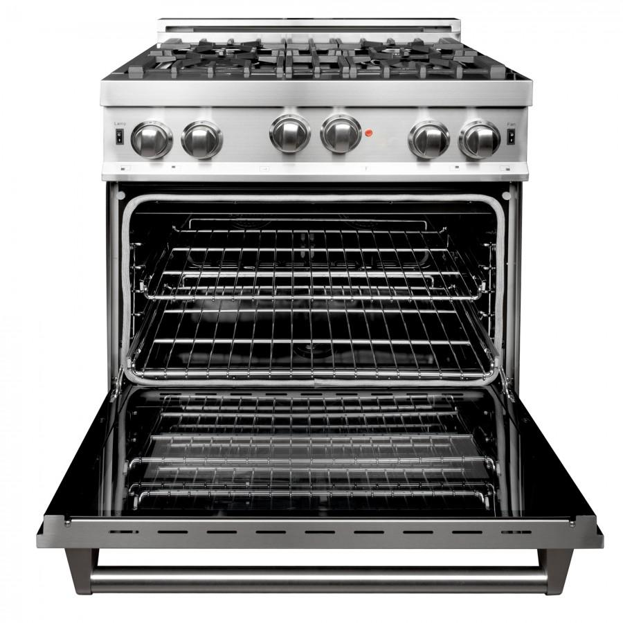 "ZLINE 30"" Professional Gas on Gas Range in Stainless Steel, RG30 - Farmhouse Kitchen and Bath"