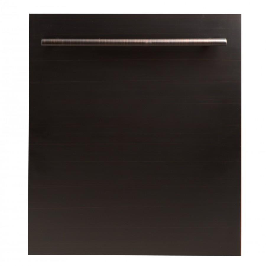 "ZLINE 24"" Dishwasher Oil-Rubbed Bronze, Stainless Steel Tub, DW-ORB-24 - Farmhouse Kitchen and Bath"