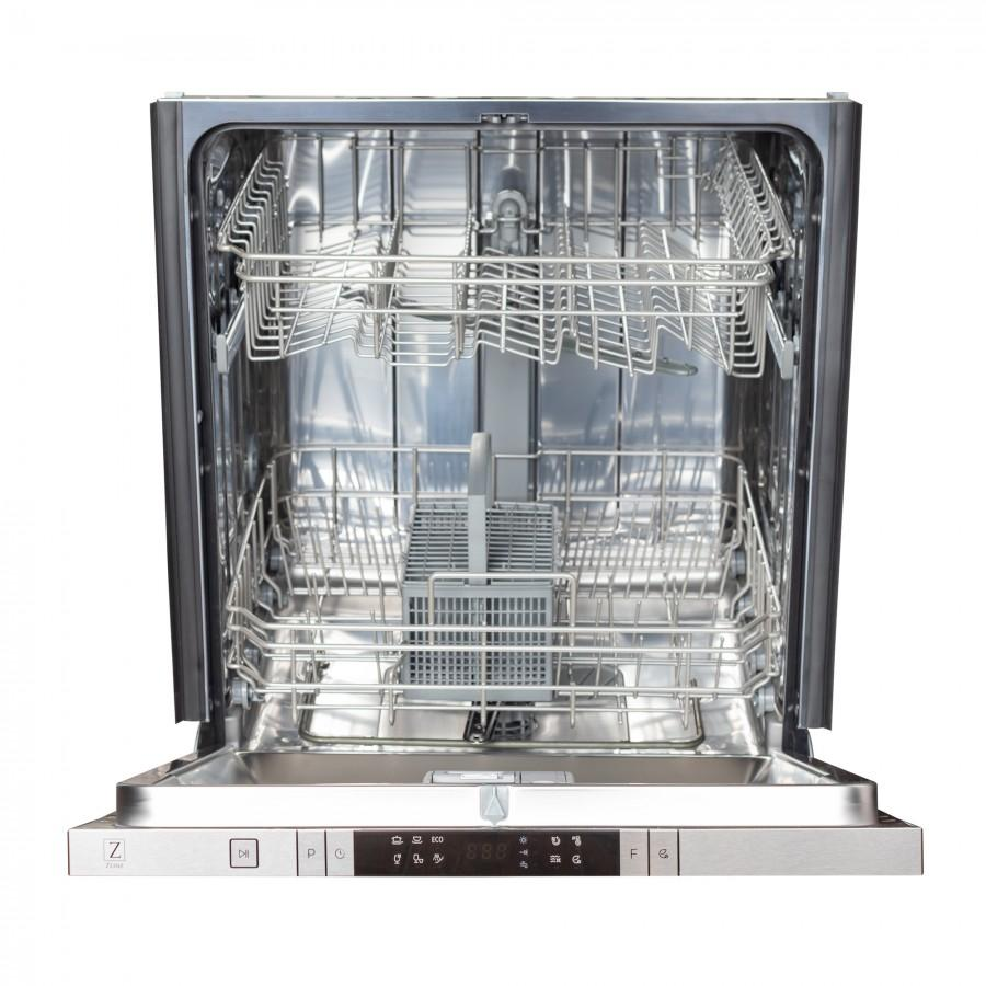 "ZLINE 24"" Top Control Dishwasher, Stainless Steel Tub, DW-ORB-H-24 - Farmhouse Kitchen and Bath"