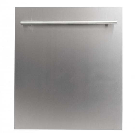 "ZLINE 24"" Dishwasher Stainless Steel, Stainless Steel Tub, DW-304-24 - Farmhouse Kitchen and Bath"