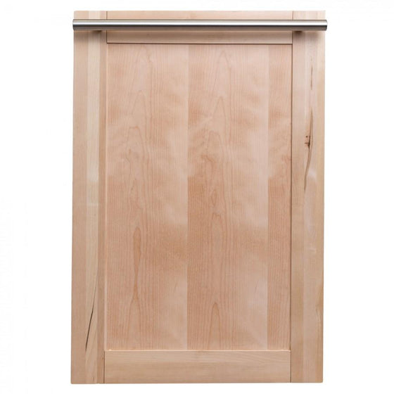 "ZLINE 18"" Dishwasher in Unfinished Wood with Stainless Steel Tub, DW-UF-18 - Farmhouse Kitchen and Bath"