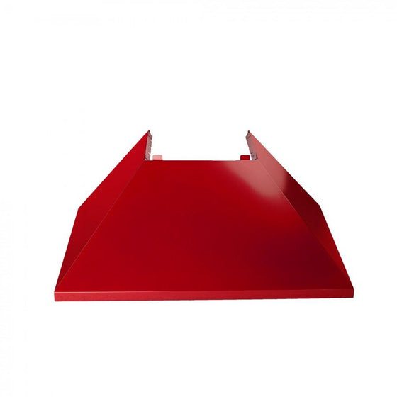 "36"" Colored Range Hood Shell in Red Gloss, Shell Only, 8654-SH-RG-36 - Farmhouse Kitchen and Bath"
