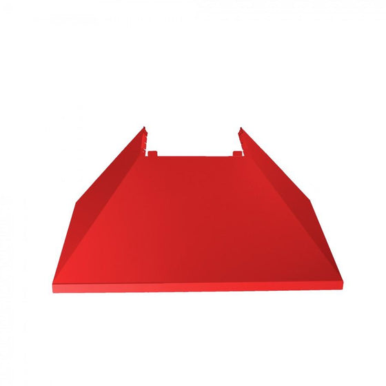 "36"" Colored Range Hood Shell in Red Matte, Shell Only, 8654-SH-RM-36 - Farmhouse Kitchen and Bath"