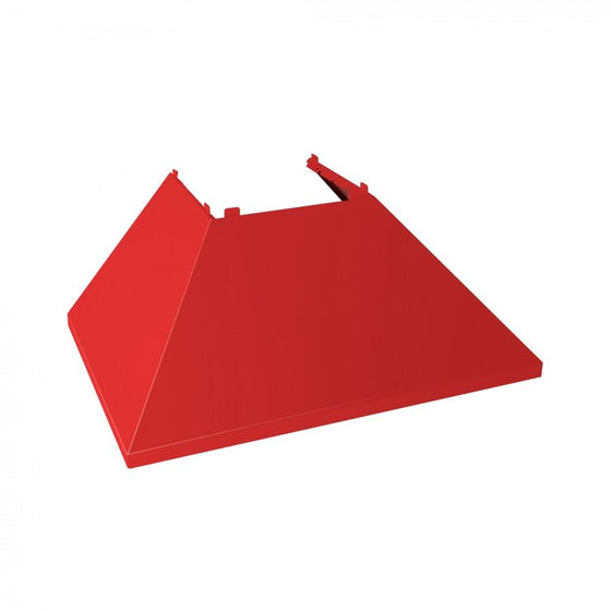 "30"" Coloured Range Hood Shell, Red Matte, Shell Only, 8654-SH-RM-30 - Farmhouse Kitchen and Bath"