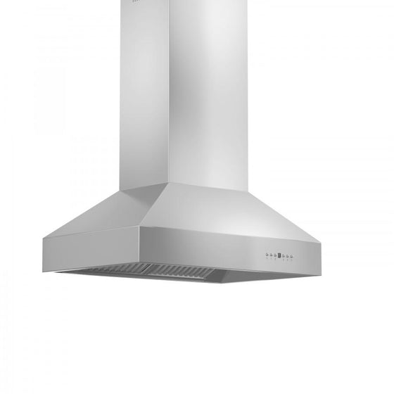 "ZLINE 60"" Stainless Steel Island Range Hood, 697i-60 - Farmhouse Kitchen and Bath"
