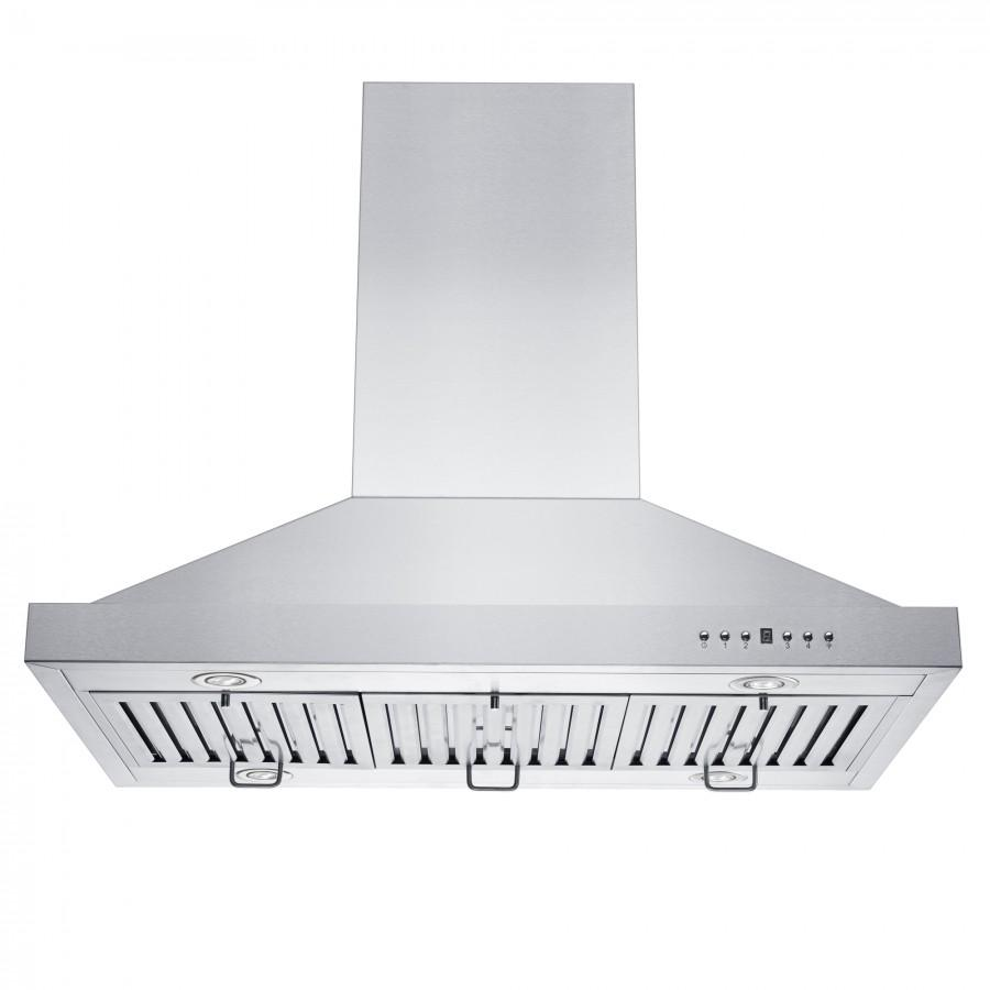 "ZLINE 48"" Remote Blower Island Range Hood, GL2i-RS-48-400 - Farmhouse Kitchen and Bath"