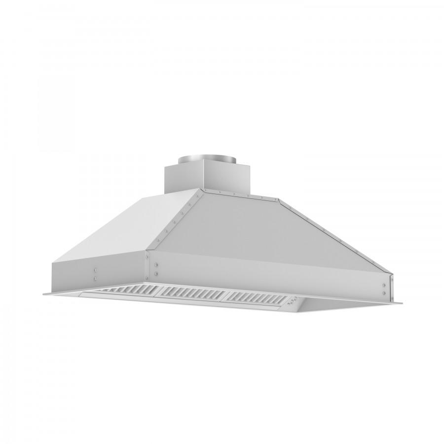 "ZLINE 46"" Remote Dual Blower Stainless Range Hood Insert, 721-RD-46 - Farmhouse Kitchen and Bath"