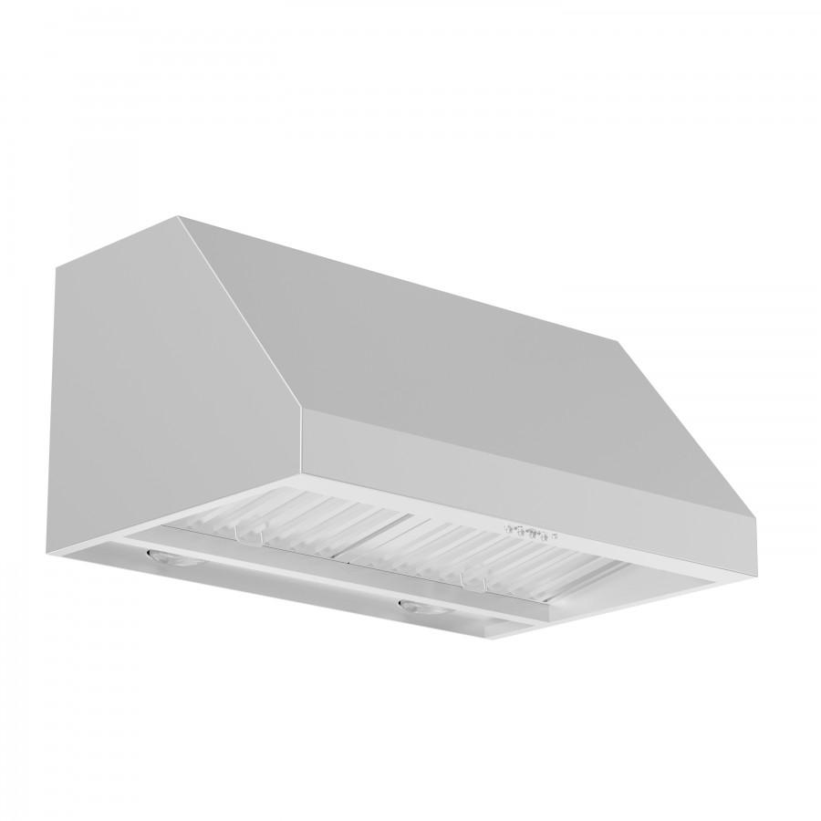 "ZLINE 42"" Under Cabinet Stainless Range Hood Heat Lamp 523-42"
