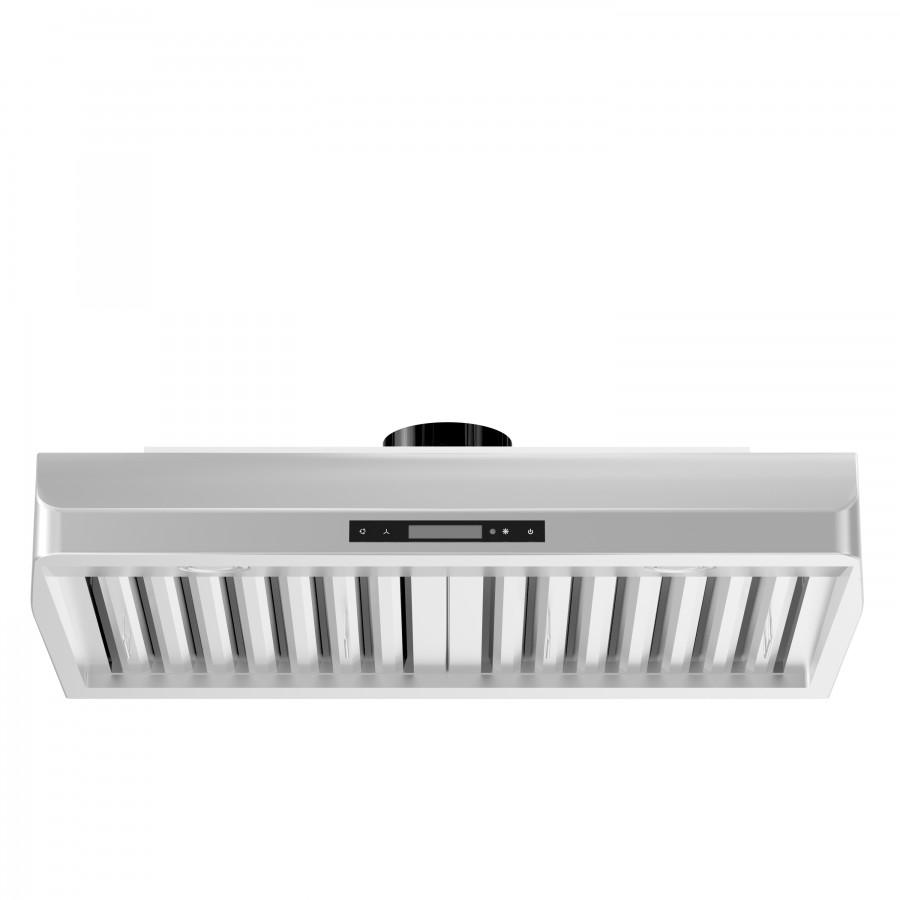 "ZLINE 42"" Under Cabinet Stainless Steel Range Hood 621-42 - Farmhouse Kitchen and Bath"