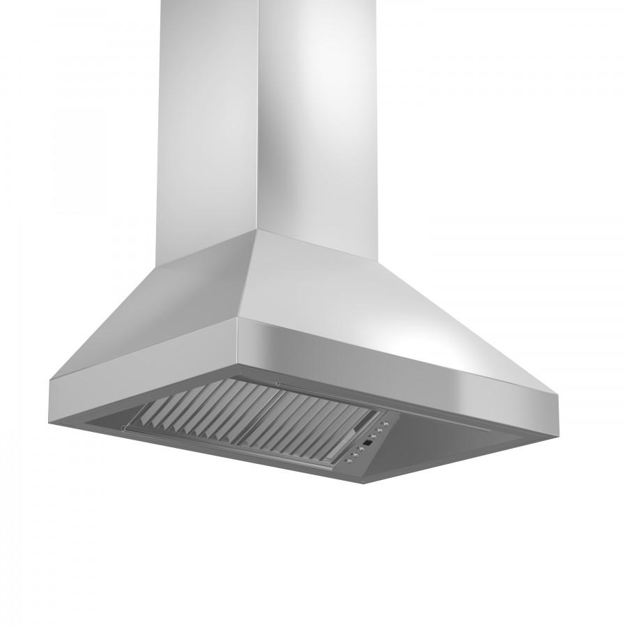 "ZLINE 30"" Remote Dual Blower Stainless Wall Range Hood, 597-RD-30 - Farmhouse Kitchen and Bath"