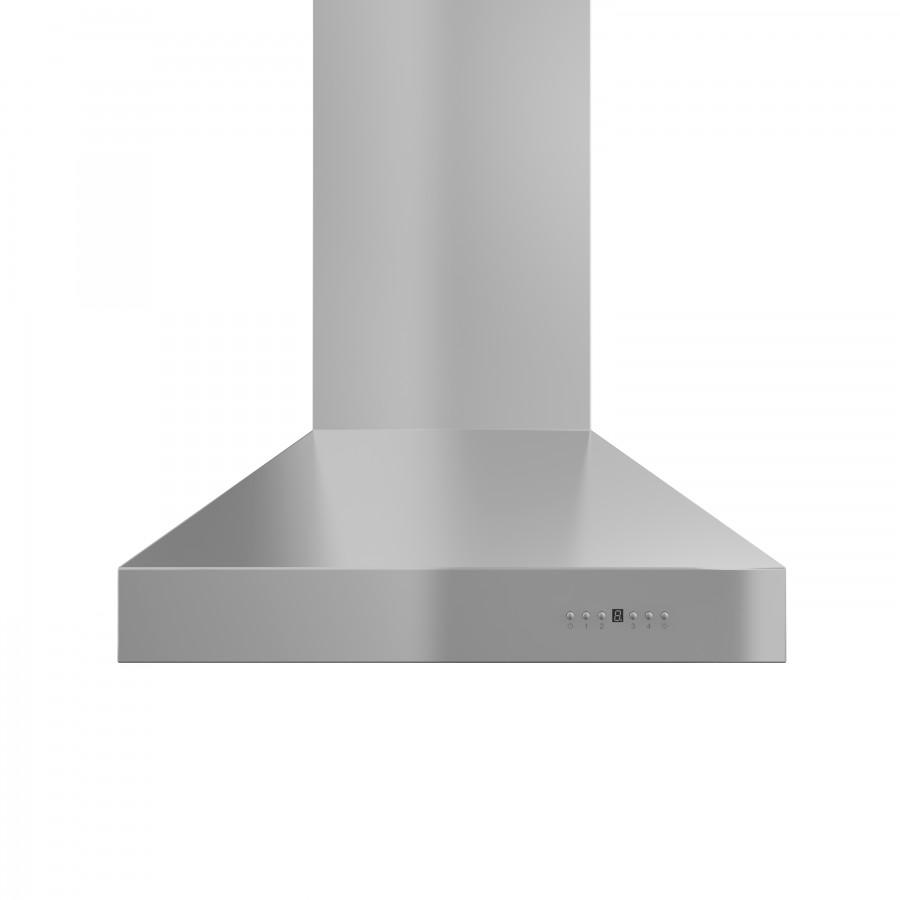 "ZLINE 36"" Outdoor/Indoor Stainless Wall Range Hood, 697-304-36 - Farmhouse Kitchen and Bath"