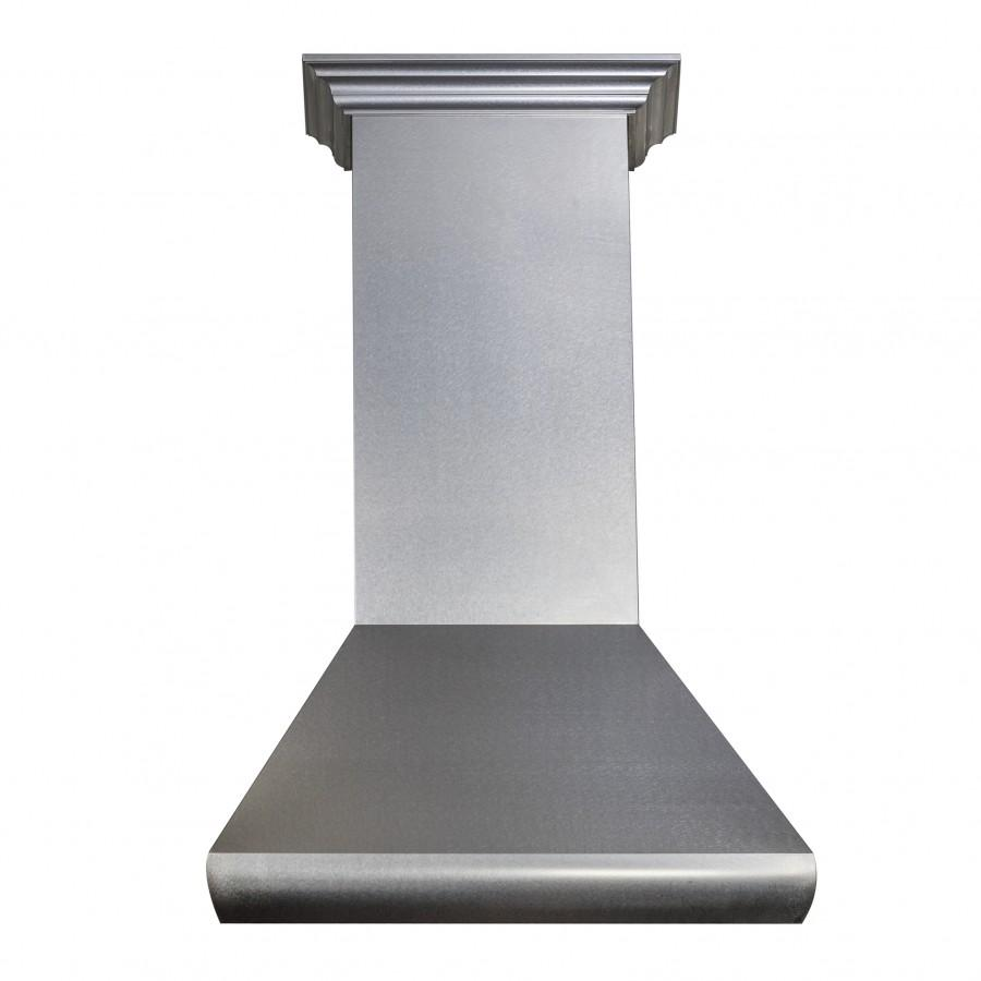 "ZLINE 30"" Stainless Steel Wall Range Hood, 8687S-30 - Farmhouse Kitchen and Bath"