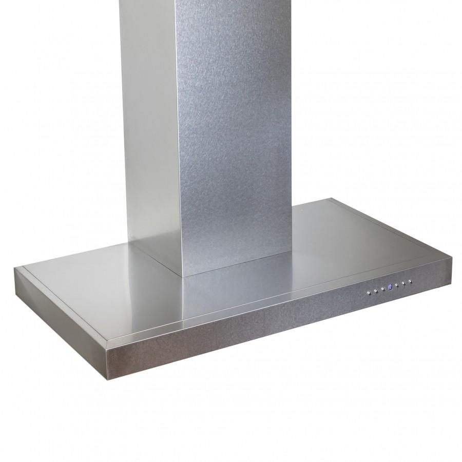 "ZLINE 30"" Wall Mount Range Hood, Snow Finished Stainless Steel, 8KES-30 - Farmhouse Kitchen and Bath"